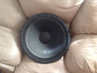 A fantastic 400 watts 18 inch sub woofer/ bass driver for sale