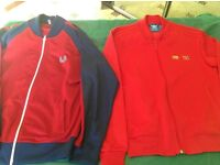 Ralph Lauren, Lyle and Scot, Hugo boss Armani etcPolos zippers hoodies and Tshirts