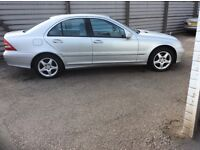 04 Mercedes C180 Kompressor Auto Silver Colour With Good Mileage