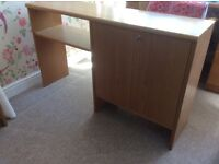 Beech cupboard/ wall unit from John Lewis. FREE