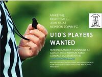 Newton Town Football Club U11s - Players wanted