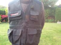Fishing waistcoat/ gilet. Masterline size XL