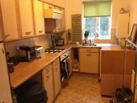 Central Guildford. Spacious 1 bedroom flat with allocated parking. Unfurnished. Close station.