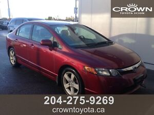 AS IS/AS TRADED HONDA CIVIC EX SEDAN! LOCAL TRADE IN @ CROWN TO