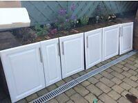 kitchen unit doors with handles