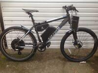 Brand New Carrera Vengence Electric bike, 1000w, 30+mph, mountain bike