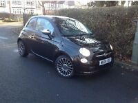 2009 FIAT 500 POP BLACK EDITION 3 DOOR RECENT SERVICE MOT AND 4 NEW TYRES