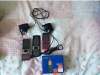 Samsung x 2 plus Nokia 100