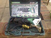 Hitachi CR13VA Reciprocating Saw.