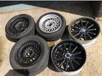 Bmw alloy wheels ( assorted )