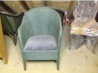 4 Basket chairs Lloyd Loom