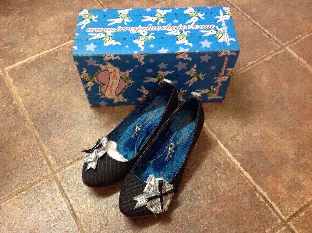 Womens irregular choice shoe