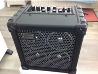Roland micro cube RX guitar amp mains or battery