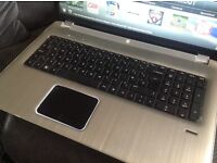 """Hp 17"""" laptop i7 processor 1 tb hdd"""