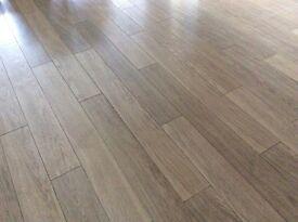 Oak effect laminate quick step flooring