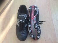 Kooga rugby boots adult size 6.
