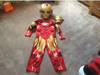 Iron Man Dress Up outfit - fancy dress - helmet & mask