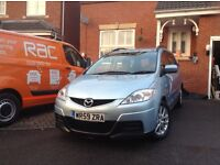 Mazda5 ts2 7 seater, lovely car, very low mileage, FSH, 10 months' MOT, new Firestone tyres
