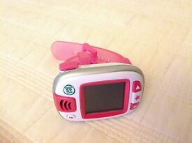 Leapfrog leapband watch game active wristband pink in excellent condition