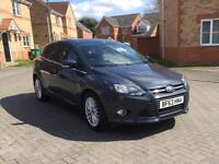 2014 FORD FOCUS ZETEC, 12 MONTH MOT, FORD HISTORY, MILEAGE 50k, HPI CLEAR, CRUISE CONTROL