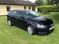 AUDI A3 QUATTRO (175 bhp) in Black 65800 MILES with 4 new tyres and brakes