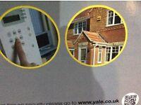 Wireless yale home alarm system
