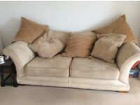 Sofa for sale with storage foot stool
