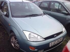 2001 FORD FOCUS ZETEC TD DI 1.8 DIESEL BREAKING FOR PARTS ONLY POSTAGE AVAILABLE NATIONWIDE