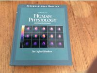 Human Physiology textbook by Silverthorn third edition