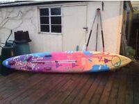 Bic Bamba Windsurf board with full rig and sail