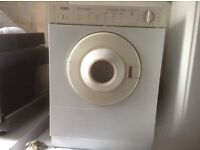 Dryer,small one with vent,£35.00