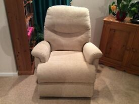Reclining tilt and lift chair, only used twice RRP £800