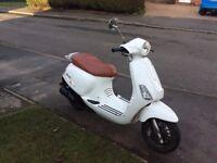 Moped 50cc, 12 months mot.