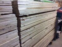 Fence boards timber