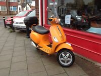2009 Vespa 50cc s fully serviced 10 months mot delivery can be arranged