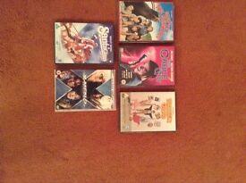 Five brand new DVD