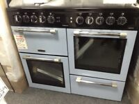 Leisure cookmaster 100cm duel fuel range. £750 RRP £1000 new / graded 12 month Gtee
