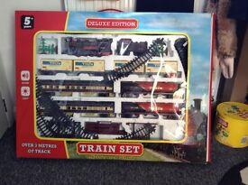 Boxed train set