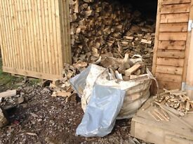 Logs for sale seasoned