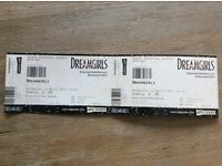 Dreamgirls tickets x2 for 12 April 2.30pm matinee Savoy theatre London