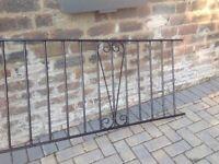 Metal Railings 310 cm x 65 cm £45 each