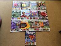 GARDENERS WORLD MAGAZINES. 2003-2004.13 Issues
