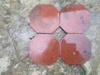 Victorian terracotta tiles