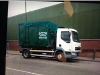Rubbish clearance. Wait and load Service