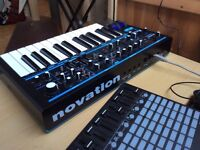 Novation bass station 2. Can send for a minimal fee