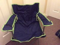 3 x Folding camping chairs