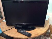 ALBA 22inch FLAT SCREEN TV WITH FREEVIEW & REMOTE VGC