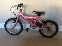 "Girls Raleigh bike 16"""