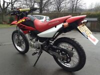 Honda XR 125 2008, well looked after,loads of new parts. V5 present,MOT end of June 2018