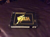 The Legend of Zelda- Ocarina of Time Nintendo 64 game